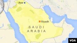 د سعودي عربستان نقشه