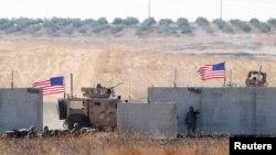 Hêzên Amerîkî li Sûrîyê