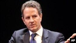 ລັດຖະມົນຕີກະຊວງການເງິນຂອງສະຫະລັດ ທ່ານ Timothy Geithner