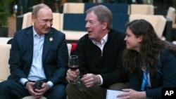 Владимир Путин и Лэрри Пробст