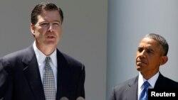 Джим Коми и Барак Обама