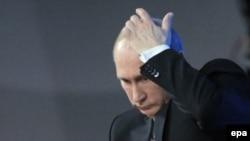 俄罗斯总统普京(资料照片)