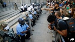 Policia dhe Garda Kombëtare në Filadelfia