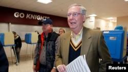 Thượng nghị sĩ Mitch McConnel tái đắc cử trong bang Kentucky