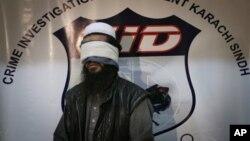 塔利班首领巴拉达被俘后巴基斯坦官方向媒体公布他的照片。