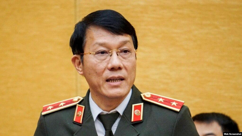 Trung tướng-Thứ trưởng Bộ Công an Lương Tam Quang.