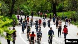 New York'ta geçen hafta sonu Central Park