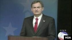 共和党参院候选人默道克(视频截图)