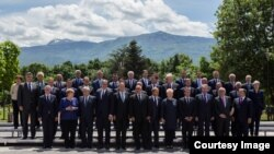 Joint photo EU Summit Sofia