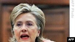 Hillari Klinton İrana xəbərdarlıq edir