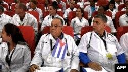 Un centenar de médicos cubanos está instalado en Kenia para dar apoyo a su sitema de salud desde junio de 2018.