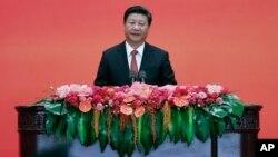 中国国家主席习近平在纪念抗日战争胜利70周年招待会上讲话(2015年9月3日)