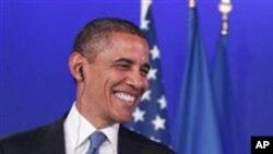 奥巴马抵达戛纳出席20国峰会