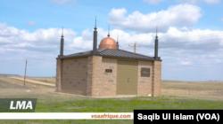 Sebuah mesjid bersejarah di Dakota Utara. (Foto: VOA/Saqib Ul Islam)