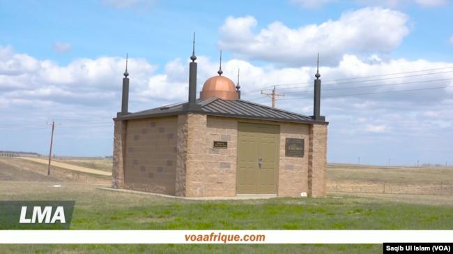 Sebuah mesjid di North Dakota (Foto: VOA)