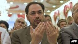 افغان امن کونسل کے سربراہ صلاح الدین ربانی (فائل فوٹو)