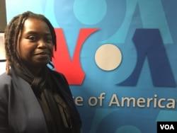 Mihaela Webba, deputada da UNITA, Angola