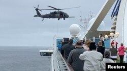 "Para penumpang kapal pesiar ""Grand Princess"" harus menjalani karantina pasca mendarat di AS (foto: ilustrasi)."