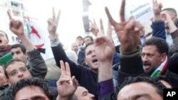 알제리의 반정부 시위