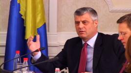 Primeiro-ministro do Kosovo, Hashim Thaçi