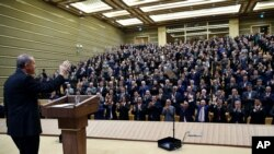 Recep Tayyip Erdogan à Ankara, le 4 novembre 2015. (Kayhan Ozer, Presidential Press Service, via AP)