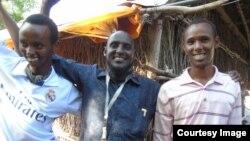 Kutoka kushoto: Abdirahman Hussein, Shaffe Abdullahi na Abdiweli Jama