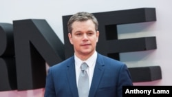 FILE - Matt Damon poses for photographers upon arrival at the European premiere of the film 'Jason Bourne' in London. Some critics have said Damon's casting as the lead character in 'The Great Wall' amounted to 'whitewashing,' in which Caucasians are chosen for roles that actors of other ethnicities should play.