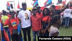Jovens do MPLA no Kwanza Sul, Angola
