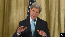 Ngoại trưởng Mỹ John Kerry nói có thể không có giải pháp hòa bình chừng nào Tổng thống Syria al-Assad vẫn còn tại chức.