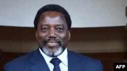 Le président de la RDC Joseph Kabila, à Pretoria, le 25 juin 2017.
