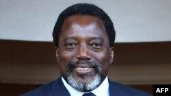 Le président de la RDC Joseph Kabila à Pretoria, le 25 juin 2017.