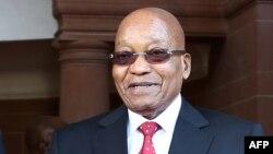 Le président de l'Afrique du Sud, Jacob Zuma, à Pretoria, le 25 juin 2017.