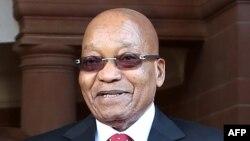 Jacob Zuma, à Pretoria, le 25 juin 2017.