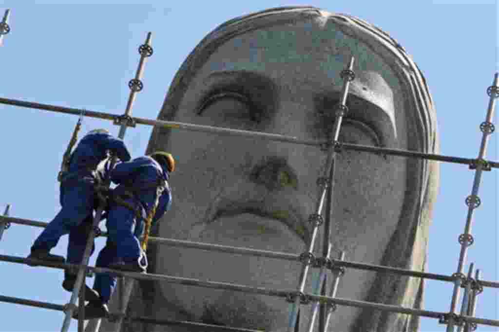 La icónica figura del Cristo Redentor fue inaugurada en 1931.