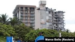 Parte de prédio caiu em Miami, 24 de Junho 2021