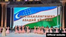 Toshkentda mustaqillik bayrami