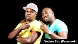 Les chanteurs ivoiriens Yodé et Siro.