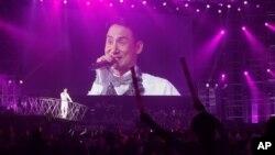 Hong Kong singer Jacky Cheung