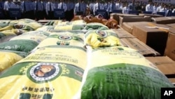 2011年5月北京警察没收的假冒伪劣粮食产品