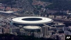 Stadion Maracana yang akan dipakai dalam acara pembukaan dan penutupan Olimpiade di Rio de Janeiro, Brazil Agustus mendatang (foto: ilustrasi).