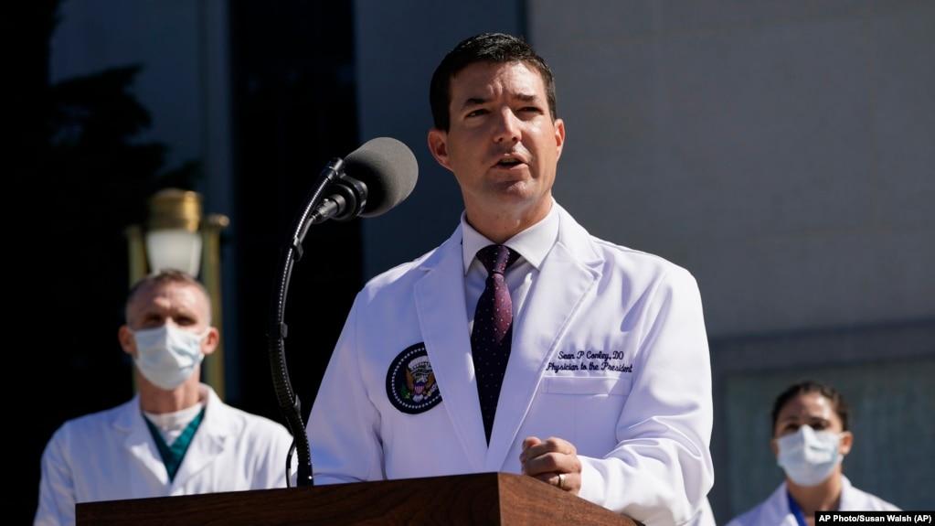 总统医疗小组报告:特朗普总统周六病情有所好转