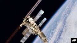 國際太空站。(資料圖片)