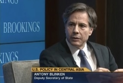 US Central Asia Policy - Deputy Secretary of State Anthony Blinken speaks at Brookings Institution