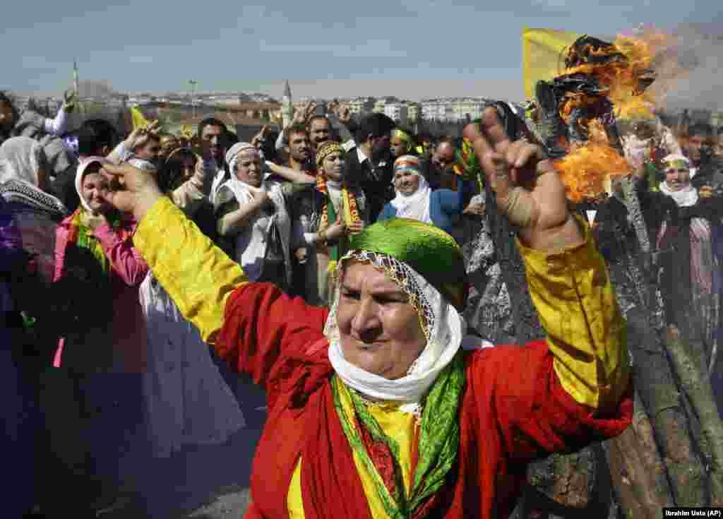 تجلیل از نوروز در ترکیه