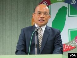 民進黨主席蘇貞昌(資料照片)