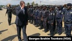 La police ivoirienne est mobilisée pour contrer l'insécurité à Abidjan, le 8 juin 2017. (VOA/Georges Ibrahim Tounkara)