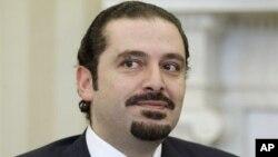 Mantan PM Saad Hariri Minggu (14/2) menyerukan pemilihan presiden baru di Lebanon (foto; dok).