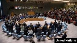 Rapat Dewan Keamanan PBB di New York (foto: ilustrasi).