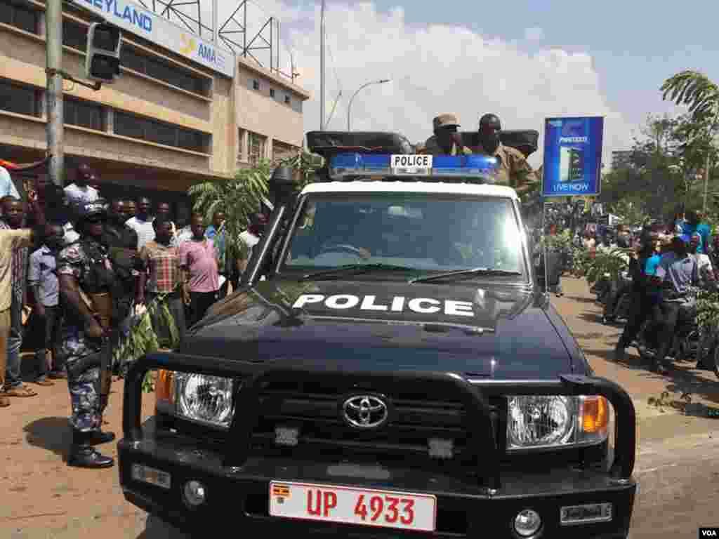 Uganda Election FDC Protest