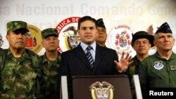 El gobierno de Colombia no contempla un intercambio con la guerrilla.